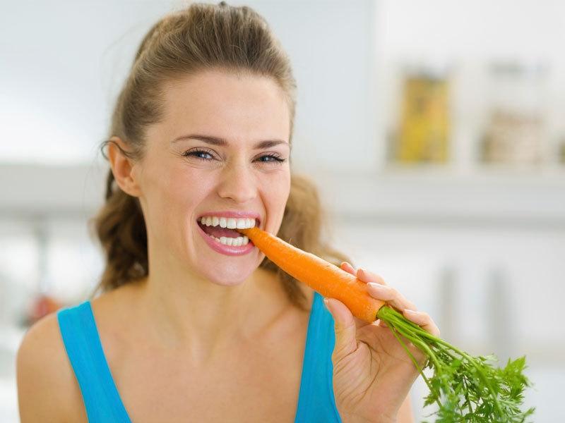 Prévenir la cataracte en consommant des carottes
